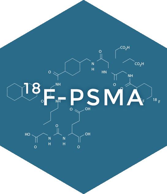 ¹⁸F-PSMA