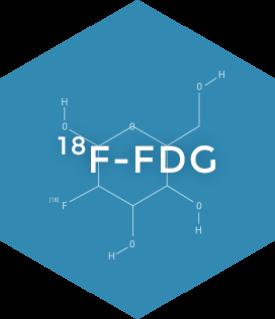 ¹⁸F-FDG